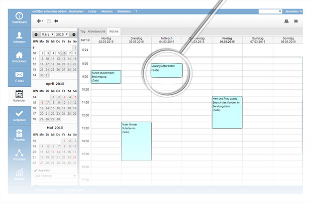 onOffice smart Terminverwaltung